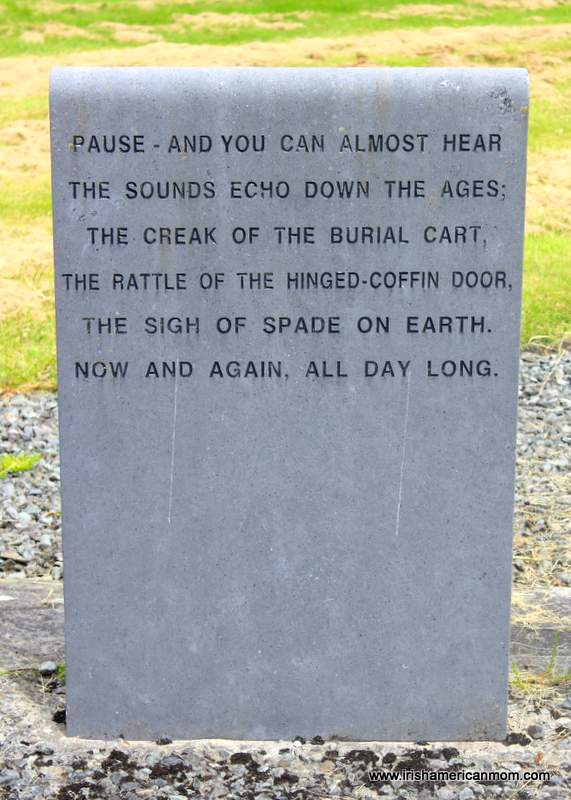 Echoes of the past at a famine burial ground in Ireland