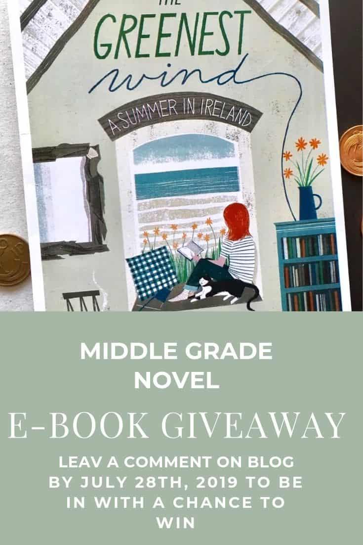 Middle Grade Novel The Greenest Wind Bookcover Design