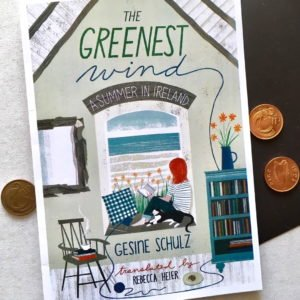 Book cover for The Greenest Wind by Gesine Schulz