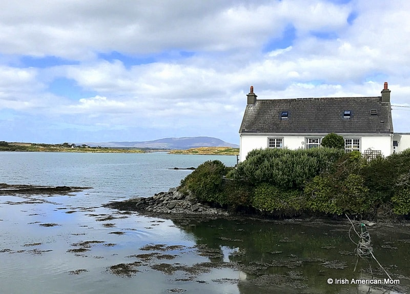 An island cottage by the shore on Sherkin Island