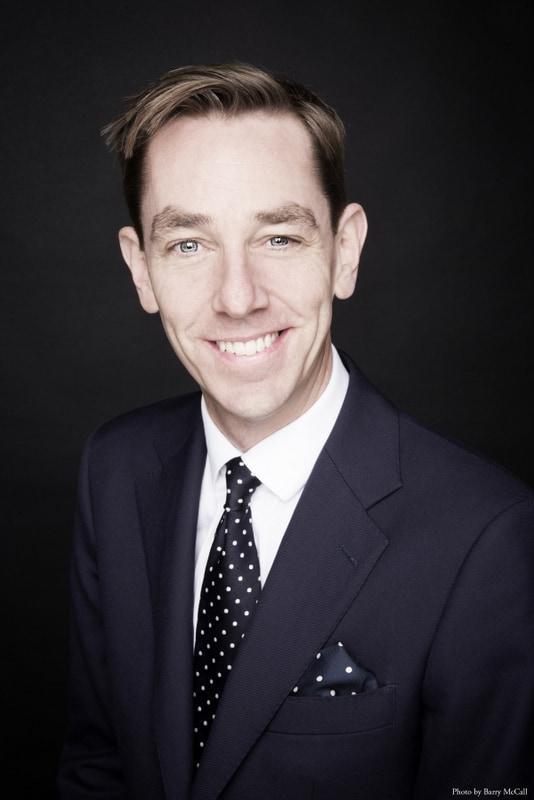 Close up image of Ryan Tubridy an Irish author and TV presenter