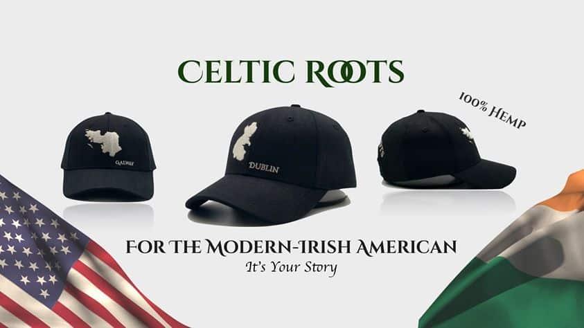 Baseball hats made from hemp for the modern Irish American