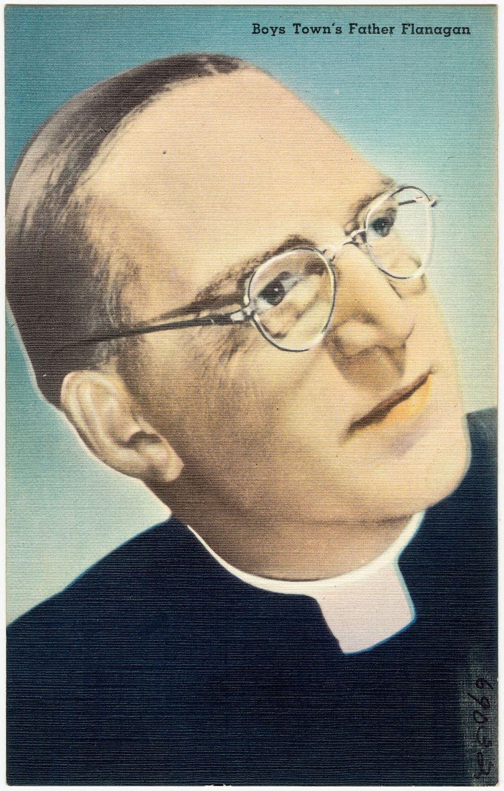Portrait of Father Edward Flanagan of Boys Town