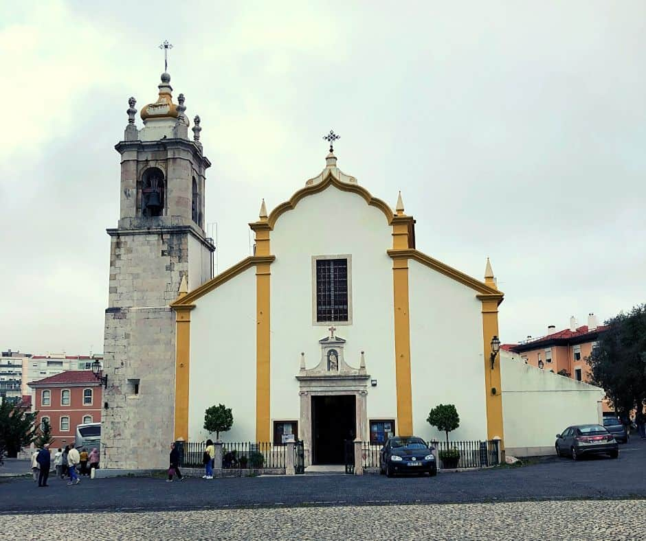 Church in Lumiar Portugal