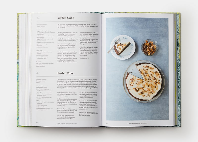 A look inside the pages of the Irish Cookbook