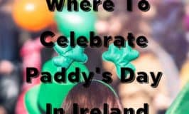 Shamrock head piece to highlight where to celebrate Saint Patrick's Day in Ireland