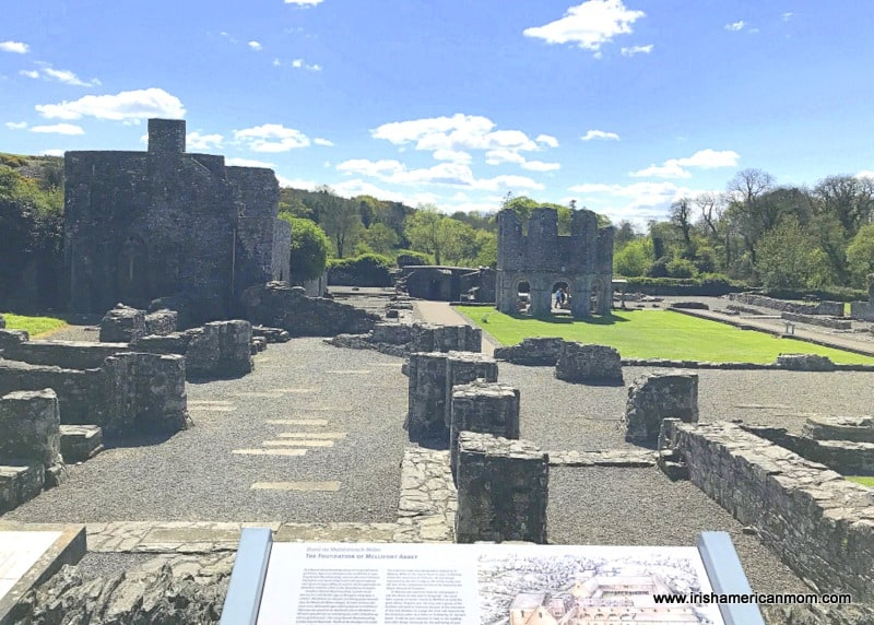 The site of the ancient Cistercian monastery in Ireland
