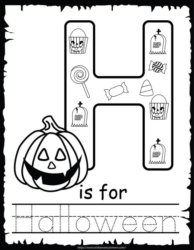 Halloween Activity Sheets For At Home Fun | Irish American Mom