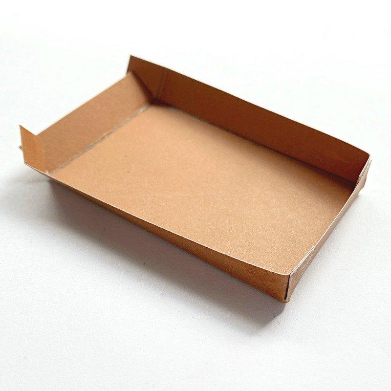 Brown card rectangular box