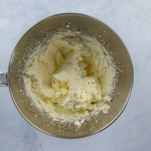 Whipped cream in a bowl