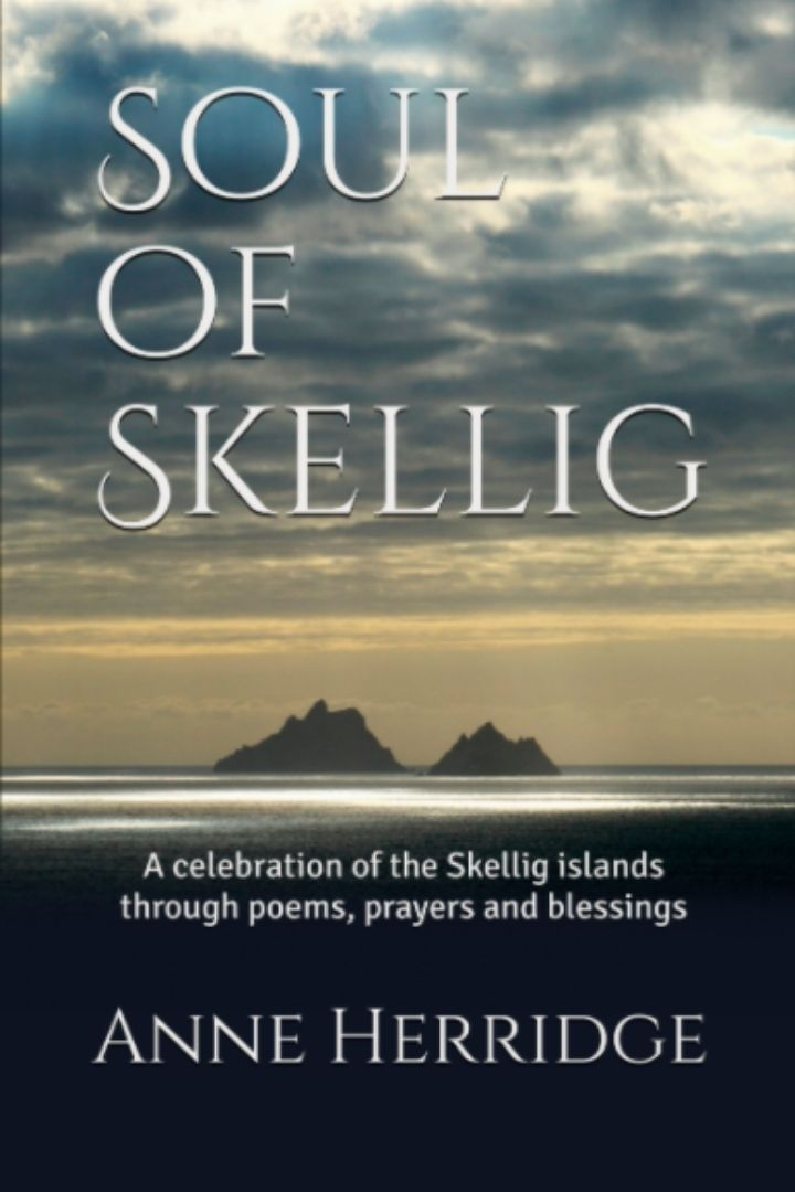 Book cover featuring islands at sunset with text overlay